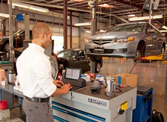 Tablet for vehicle inspection